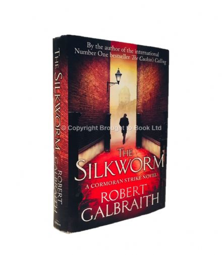 The Silkworm Signed by Robert Galbraith First Edition Sphere 2013